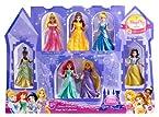 Disney Princess Magic Clip Little Kingdom 7 pack Doll Set