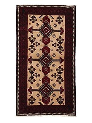 Darya Rugs Authentic Persian Tribal Rug, Peach, 3' 3