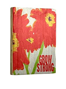 Artehouse Grow Strong Reclaimed Wood Sign