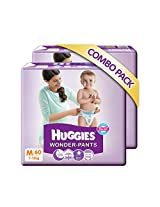 Huggies  Medium Size Wonder Pants Combo Pack (60 Count)