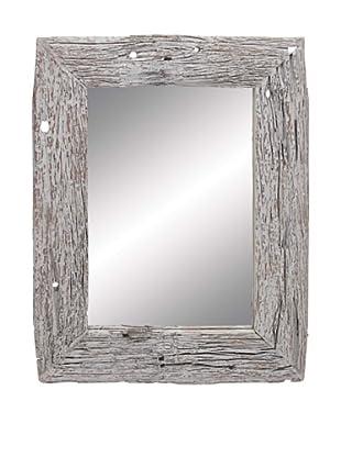 Wooden Reclaimed Mirror