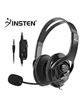 Everydaysource Compatible With Sony Play Station 4 (Ps4) 2 X Black Handsfree Gaming Gamer Headset With Boom Microphone