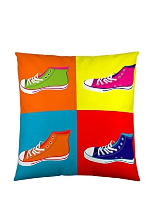 Naturals Funda de cojín Zapatillas (multicolor)