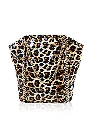 Amrita Singh Bolso asa al hombro Leopard
