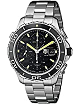 TAG Heuer Men's CAK2111.BA0833 Analog Display Automatic Self Wind Silver Watch