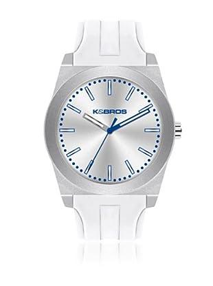 K&BROS Reloj 9560 (Blanco)