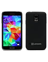 Lenmar Extended Battery Case for Samsung Galaxy S5, 80% More Charge, 2200mAh Battery with Cover Included, Slim, Lightweight Design: Includes Micro USB Charge Cable, Matte Black