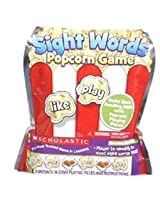 "Scholastic: ""Pre-k to 1"" Sight Words Popcorn Learning Game 3+ Age Recommendation"