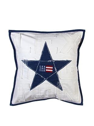 Lexington Company Funda De Cojín Estrellas (Blanco)