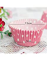 100Pcs Mixed Colorful Paper Cake Cup Liners Baking Cupcake Muffin