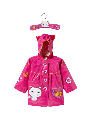 Kidorable Lucky Cat Raincoat (Pink)