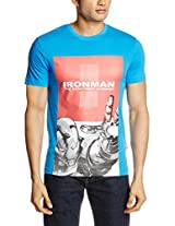 Marvel Men's Cotton Round Neck T-Shirt