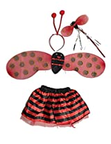 MBGiftsGalore Lady Bug Wings Costume
