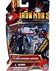 Disney Iron Man Stark Racing Armor Iron Man 2 Action Figure -- 4''