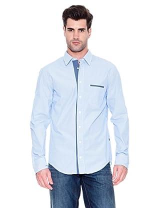 Hugo Boss Camisa Cielo (Azul Medio / Blanco)