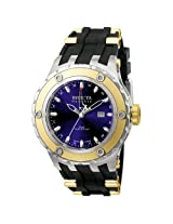 Invicta Subaqua Rsv Blu Dl Qtz Gmt Ss/Gld Watch 6179