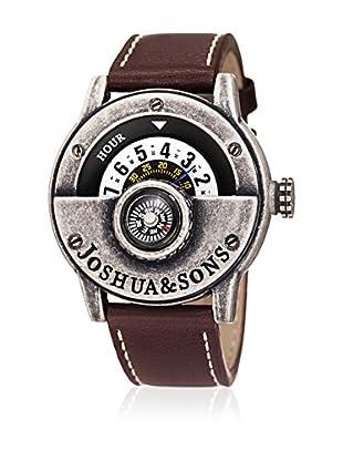 Joshua & Sons Reloj de cuarzo Man 45 mm