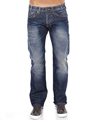 Pepe Jeans London Vaquero Garret (Azul Desgastado)