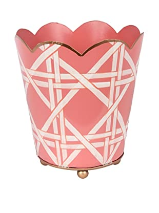 Jayes Cane Pink Small Decorative Cachepot