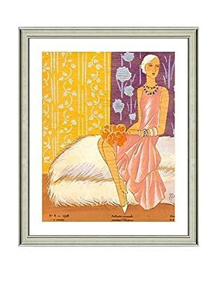 Art Source Pastel Fashion Print IV, Multi