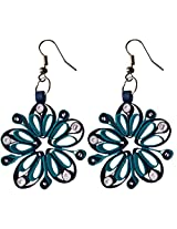 Designer's Collection Paper Quilling Ear Rings for Women-DSERA004A