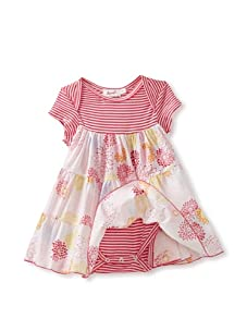 Jupon Baby Alice Overlay Dress (Pink)