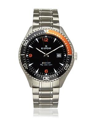 Edox Men's Diver Stainless Steel Watch