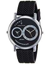 Optima Analog Black Dial Men's Watch - FT-ANL-2522
