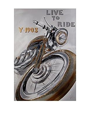 Arte Dal Mondo Leinwandbild Paolo Rossini Motocicletta