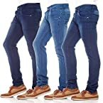 Poaster Pack of 3 Plain Men Jeans PL JEN 03 05 06
