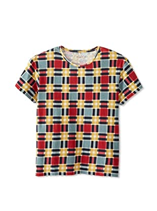 Levi's Made & Crafted Men's Bay Checked Tee (Multicolor)