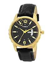 Timex Fashion Analog Black Dial Men's Watch - E310