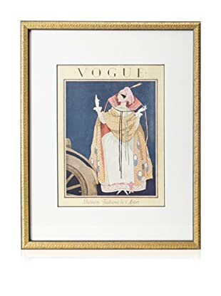 Original Vogue Cover from 1924 by George Plank