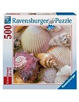 Beach Shells 500 Piece Square Puzzle