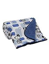 Bedtime Originals Snoopy Sports Sherpa Velour Blanket