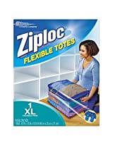 Ziploc Flexible Totes  X-Large, 1 Count (Pack of 3)