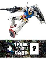 Rx 78 02 Gundam (Gundam The Origin Ver.): Mg Gundam Master Grade 1/100 Model Kit + 1 Free Official Gundam Japanese Trading Card Bundle