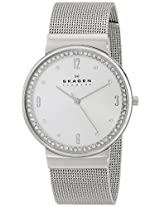 Skagen End-of-season Ancher Analog Silver Dial Women's Watch - SKW2152