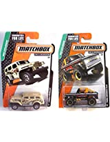 MBX Explorers Matchbox Ford Bronco 4x4 & Jungle Crawler #59 / 119 in PROTECTIVE CASES