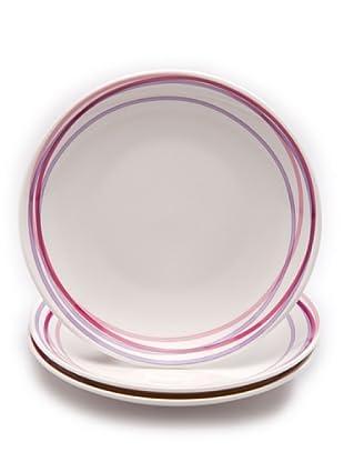Tognana Set 3 Piatti Dessert 20 cm
