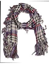 Hari Women's Cotton Scarf (141, Multi Color, Free size)