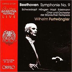輸入盤CD フルトヴェングラー指揮 バイロイト音楽祭ライヴ ベートーヴェン:交響曲第九番の商品写真