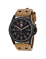 Luminox Open Box - Atacama Field Day Date Light Brown Leather Men's Watch - Ob-Lm1925