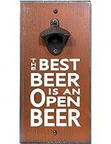 My Word Best Open Beer Bottle Opener, 6 x 12