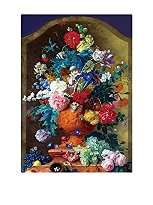 Best seller living Leinwandbild Flowers In Vase