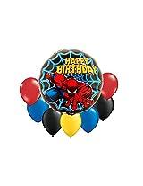 Spider Man Bouquet Balloon 8 Pc