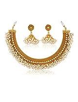 Royal Bling Ethnic Golden Jewellery set for women