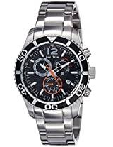 Nautica Sports Analog Black Dial Men's Watch - NTC16666G