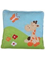 Twisha Garden Giraffe Pillow 13 X 13 3 Inch