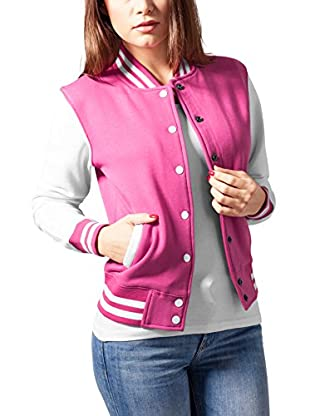 Urban Classics Chaqueta Ladies 2-tone College Sweatjacket
